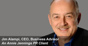 Real Publicity Success Story With Jim Alampi, Author