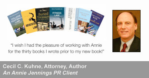Real Publicity Success Story With Attorney and Author, Cecil C. Kuhne