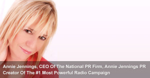 Now This Is The Ultimate Compliment For Annie's PR Firm . . .