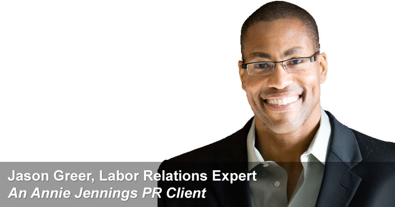 Real Publicity Book Promotion Success Story With Labor Relations Expert, Jason Greer