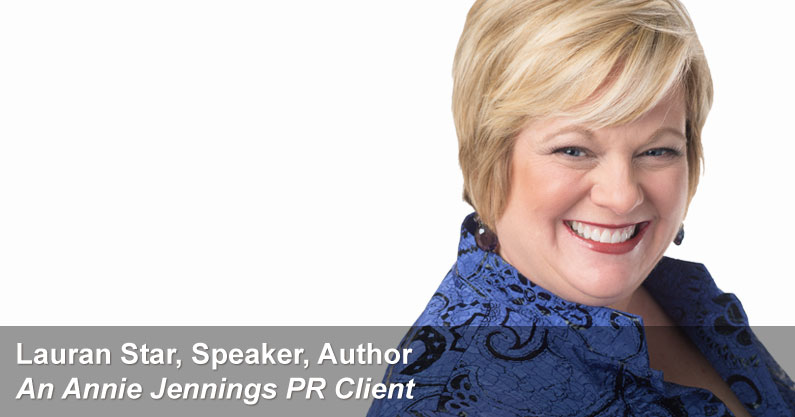 Annie Jennings PR Real Website Success Story - Lauran Star