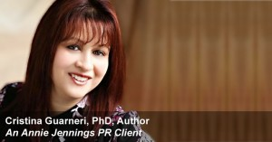 Book Promotion Real Publicity Success Story With Cristina Guarneri, Author