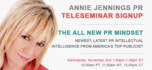 Teleseminar-The All New PR Mindset