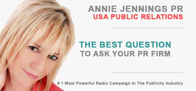 Publicity - The Best Question To Ask Your PR Firm