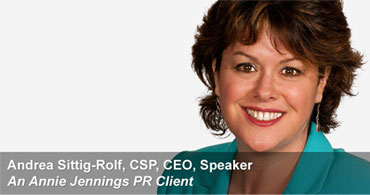 Andrea Sittig-Rolf Real Publicity Story of Success